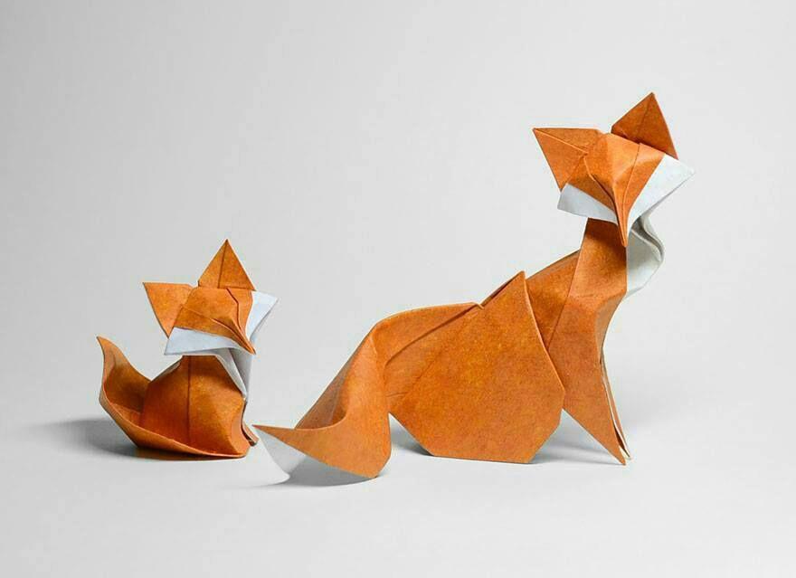 طراحی اوریگامی : حیوانات جنگل