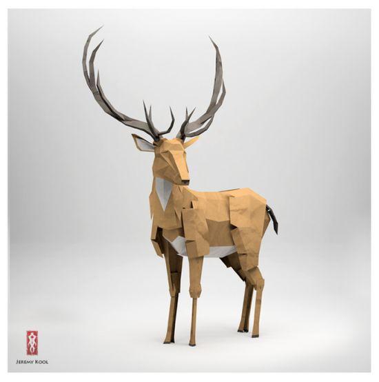 طراحی اوریگامی : حیوانات جنگلطراحی اوریگامی : حیوانات جنگل. طراحی اوریگامی ...